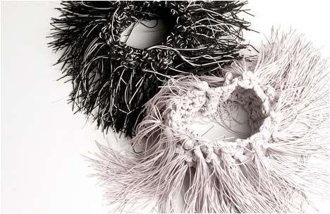 Atara de Lange | Creating Haute Couture of Rubber Threads