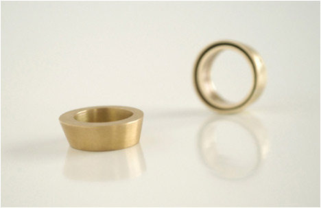 hollow conic ring