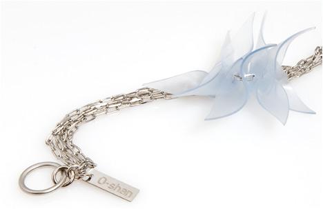 urban flower bracelet | brass, 24k gold, vermeil, silicone