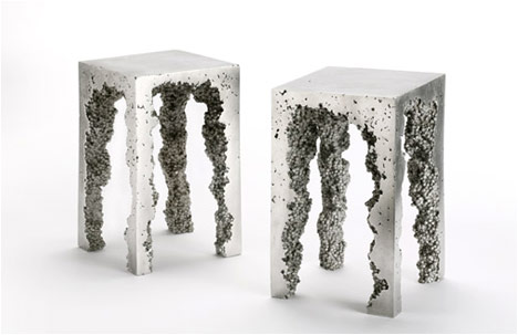 Reddish Studio | Dov | Aluminum Stools