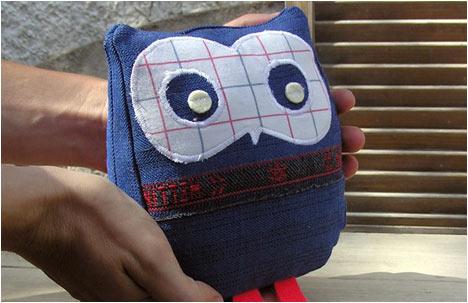 Blue Ghost Owl