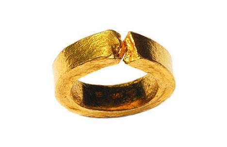 Creek Ring | 24k gold