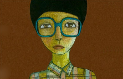 Jenny Meilihove | Those Big Oversized Glasses