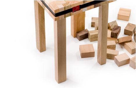 Stump series | A detail of the oli stool