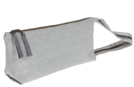 Small Zipper Clutch Fabric