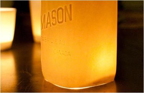 Glow Collection | Mason Jar Hurricane Lantern