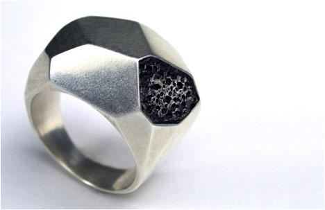 Twentyten Collection | Silver Geometric Ring
