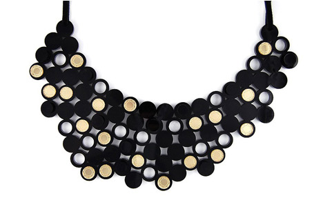 The Beaton Gold Mirror Geometric Necklace
