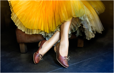 Liebling Shoes | Brown, Yellow and A Dash of Blue