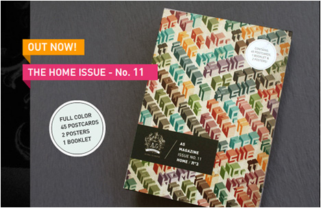 The A5 Magazine | Home. Where Is It?