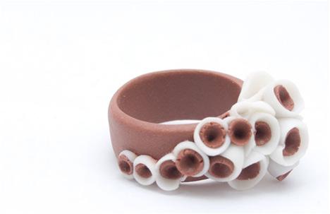 Martinique Porcelain Ring