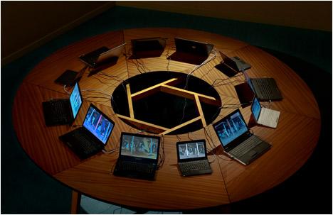 Sigalit Landau   Salt Bridge Summit   Video Installation   2011