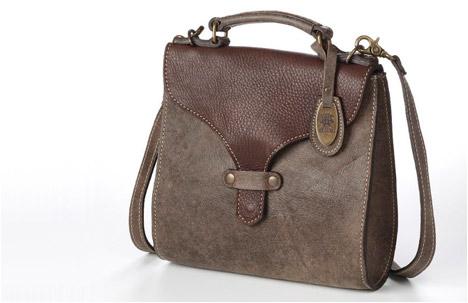 Baki Bag   Stoned Brown.Dark Brown