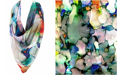 Tamar Branitzky | Stained Chiffon