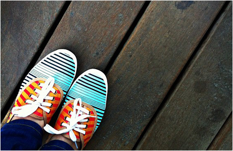 My Shoe Break: In the Mood for Some Stripes