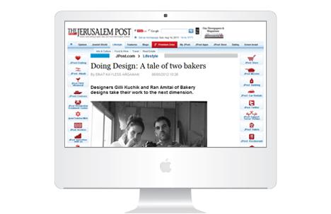 Design Break Elsewhere: Interviewing Bakery Studio for the JPost