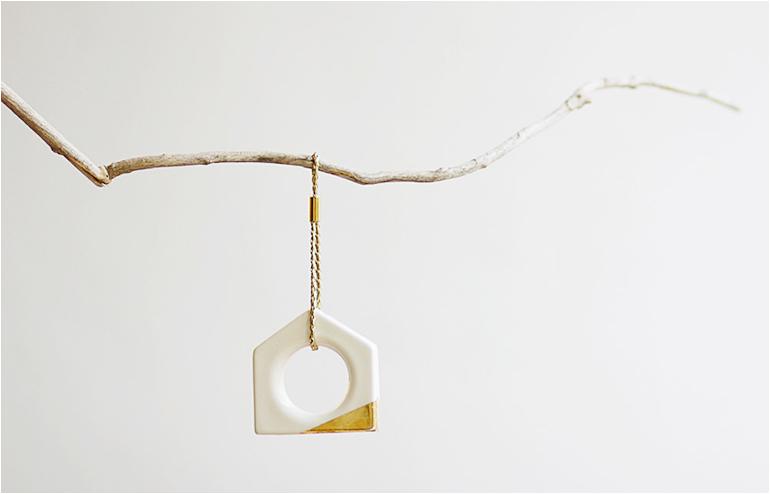 Hook n' Loop's geometric ornament. // via: Design Break