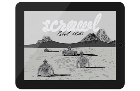 Scrawl Magazine | The first Issue