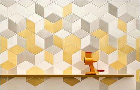 Raw Edges   Tex-tiled Ceramic