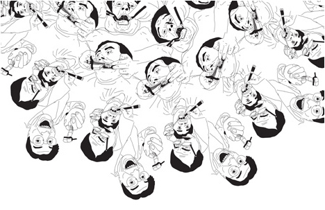 An illustration by Yotam Hadar