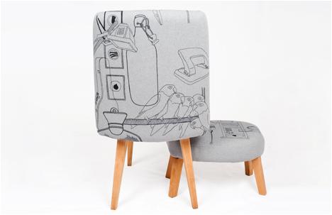 Noam Tabenkin | Doodled Furniture