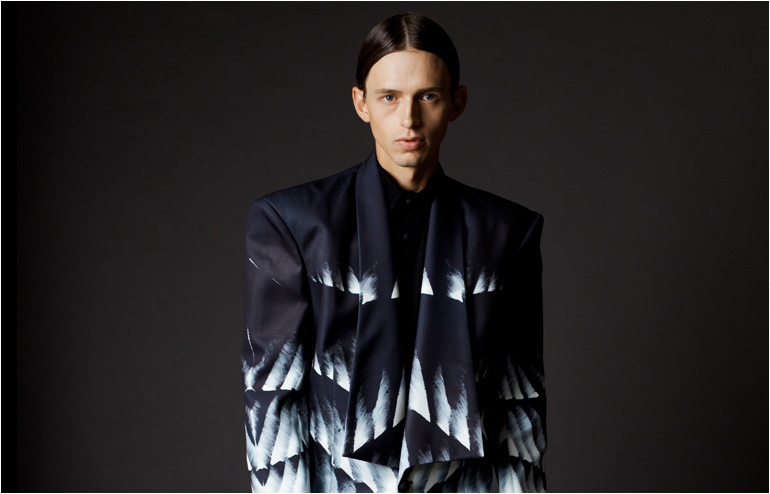 Kýrie, Eléison. George Zaid followed the Orthodox monks of Mount Athos in his graduate fashion collection. // via: Design Break