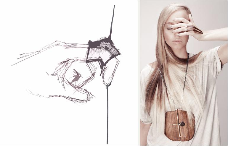 Alter Self. Elina Gleizer's jewelry collection inspired by human anatomy. // via: Design Break