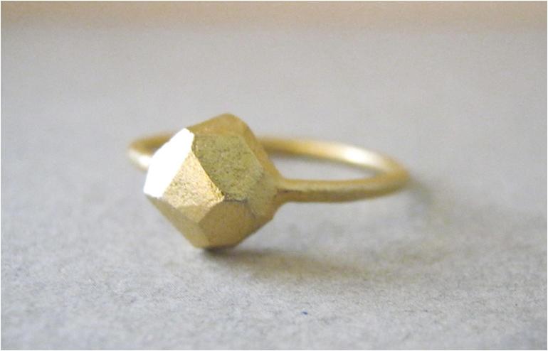 Hand carved rings by Laliv Shalev and her Baladi Studio. // via: Design Break