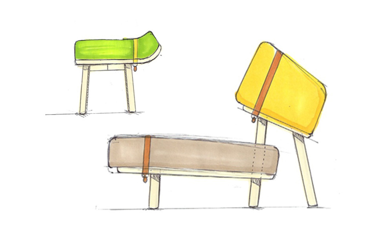Hosting Hounds. Tom Bendkovsky's graduation project is a furniture collection, which was inspired by dogs. // via: Design Break