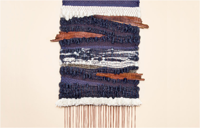 Brook&Lyn's weaved fountains // via: Design Break