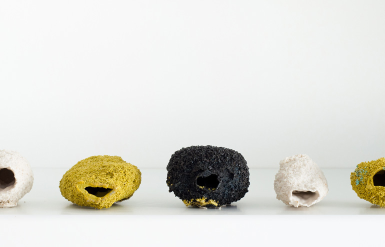 Michal Fargo | Rocks. Ceramic Rocks.