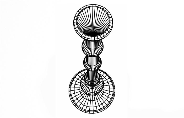 The Flatlight CandleHolder by Studio Cheha aka Nir Chehanowski. // via: Design Break