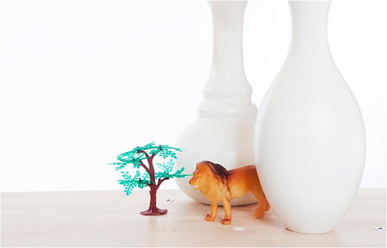 Vase Shelves by Bakery Studio. // via: Design Break