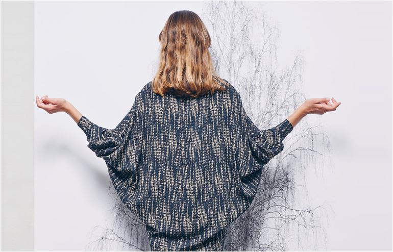Noam Blumenthal's (akaNote Fashion) wings like shirt. // via: Design Break