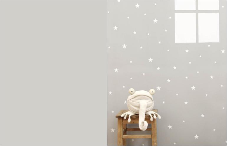 Tayo's wall stickers // via: Design Break