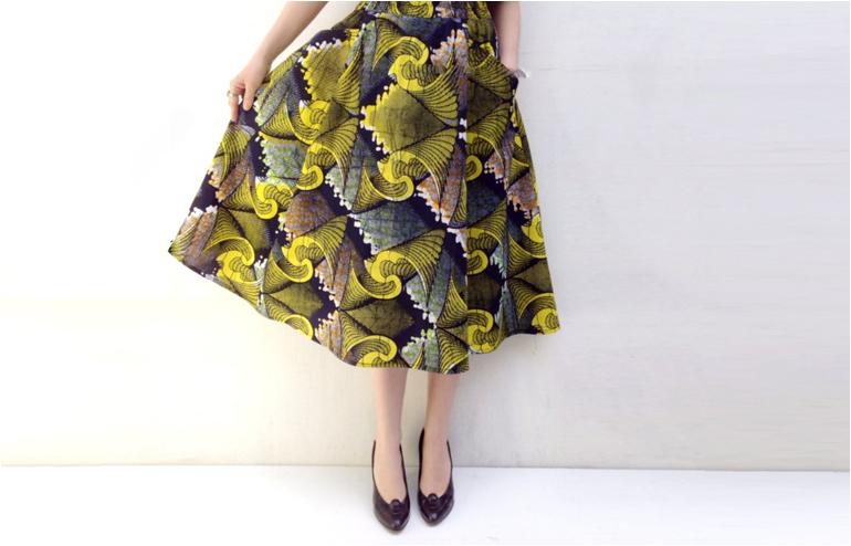 A Tale of a Handmade Princess. Crazy beautiful skirts by Aluma Klein. // via: Design Break