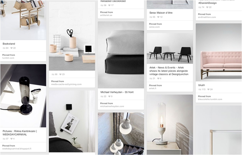 Pinterest is the place where I feel most at home. My favorite pinners, take 2. A Merry Mishap Blog's account. // via: Design Break