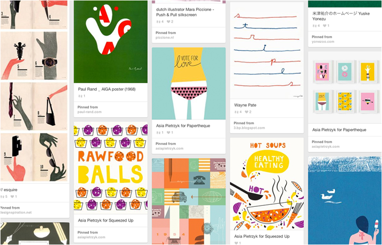 Pinterest is the place where I feel most at home. My favorite pinners, take 2. Asia Pietrzyk's account. // via: Design Break