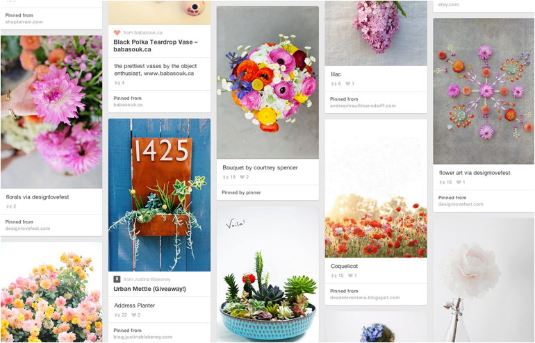 Pinterest is the place where I feel most at home. My favorite pinners, take 2. Baba Souk's account. // via: Design Break
