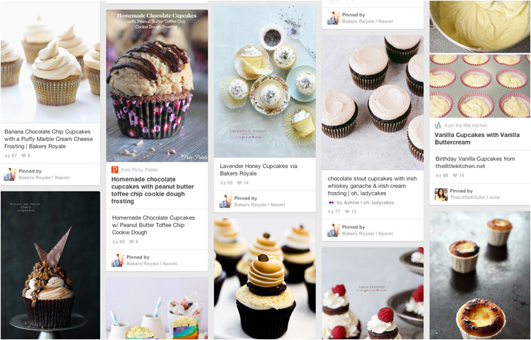 Pinterest is the place where I feel most at home. My favorite pinners, take 2. Bakers Royale's account. // via: Design Break