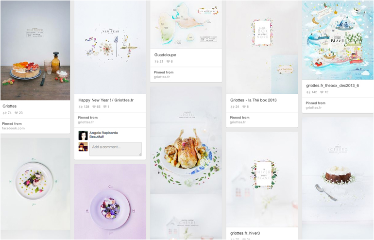 Pinterest is the place where I feel most at home. My favorite pinners, take 2. Griottes' account. // via: Design Break