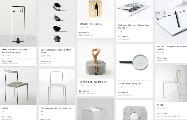 Pinterest is the place where I feel most at home. My favorite pinners, take 2. Samuel Machell's account. // via: Design Break