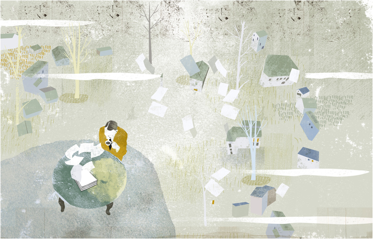 Illustrated Break: April 2014 | By Masha Manapov