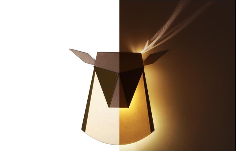 Popup Light by Chen Bikovski. // via: Design Break