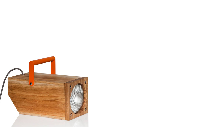 Tom. A lamp that can stand in three different modes, just like a little cartoon puppy. // via: Design Break