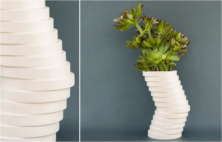 Vera. A vase by Studio Praktik. // via: Design Break
