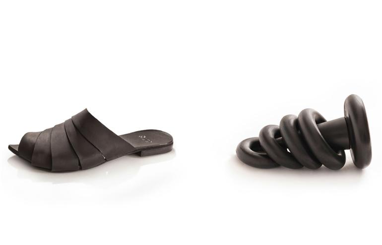Black Toys. Shoe collection by UnaUna. // via: Design Break
