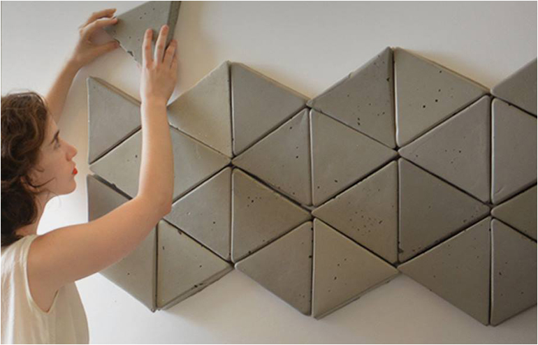 Say hello to Cementic, the love child of concrete and sponge. A child that is now know as soft concrete Created by design student, Aviram Cohen Sityon. // via: Design Break