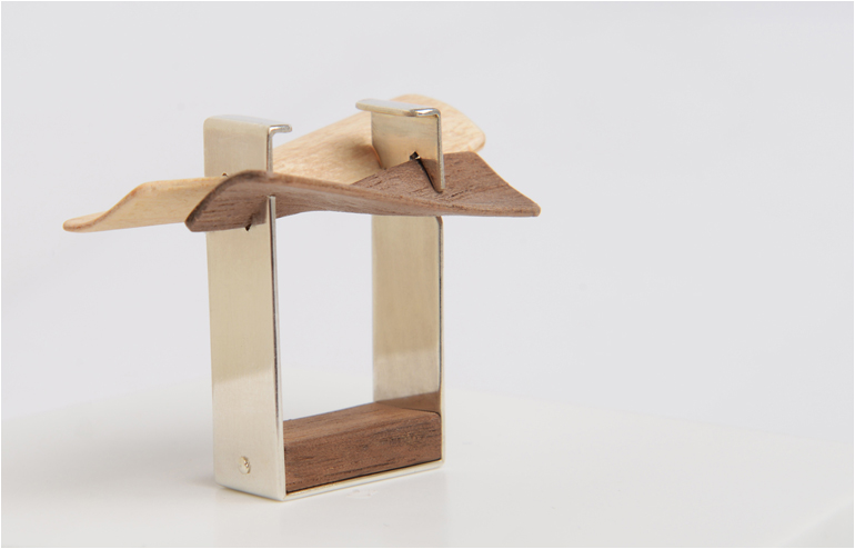 """In her """"twisted"""" collection, Wood in Motion, Ravit Tzadik plays with the flexibility of the wood, with the help of the lamination technology. // via: Design Break"""