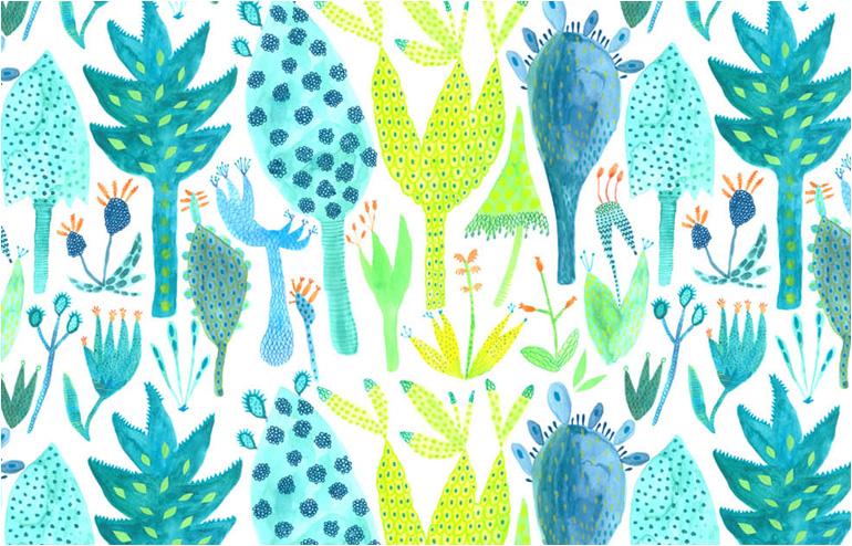 Montrous Botanics. An imaginative botanical world by Kathrin Schank. // via: Design Break